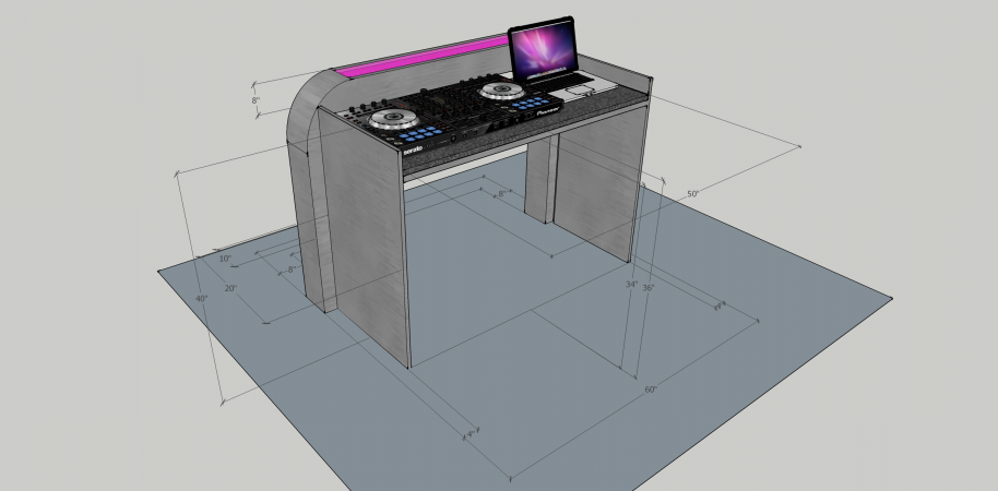 Illuminated DJ Table #208<br>2,436 x 1,200<br>Published 2 years ago